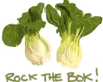 Rock The Bok! Print