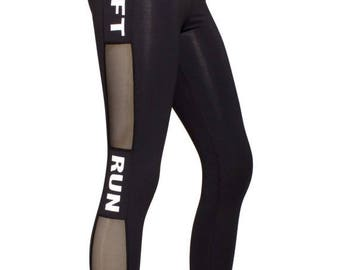 ON SALE Lift---Run---Love Leggings