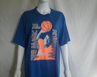 Magic Johnson Slice soda Ad Advertisement t shirt