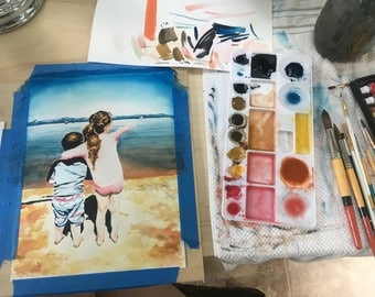Custom Watercolor Painting from a Favorite Photo