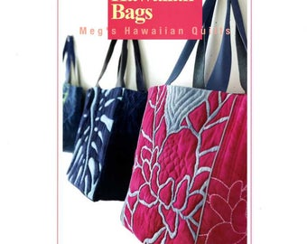 Designer's HAWAIIAN Bags Meg's Hawaiian Quilts by Meg Maeda - Japanese Craft Book