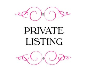 Private listing for Haley K.