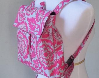 Reserved - - - - Feeding Tube Backpack  - Custom Fabric - Light weight