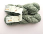 Sage alpaca yarn - luxury yarn - warm yarn - natural yarn - natural alpaca - alpaca yarn - free shipping!