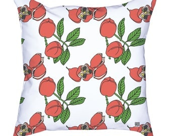 Ackee - Jamaican Botanicals Throw Cushion Covers (pillow insert not included)