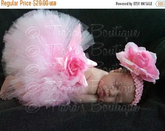 SUMMER SALE 20% OFF Tutu, Girls Tutu, Pink Tutu, Baby Tutu, Newborn Photo Prop, 6'' Tutu, Toddler Tutu, Tutu Set, Lovey Dovey, Newborn Tutu,