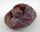 Wonder Sock yarn - Graffiti and Asphalt- 465 yards 100 grams- 72/25 Superwash Blueface wool and Nylon