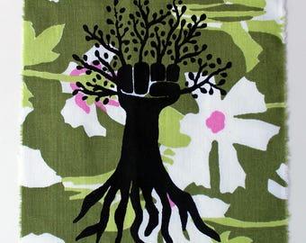 tree fist patch