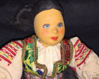 Vintage Greek Doll