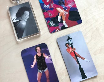 Richard Simmons Vintage Magnets and Keychain
