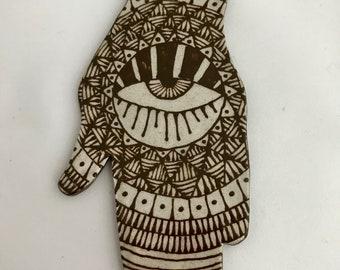 Evil Eye Hand #7