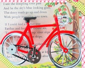 Bike, Cruiser,  Miniature Bike, Bicycle Decoration, Charm, Embellishment