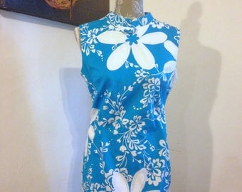 Vintage Hawaiian Dress Size M