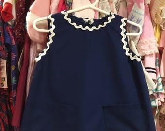 60s Ric-Rac Dress 2/3T