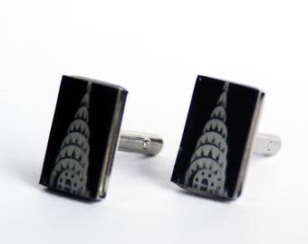 Cuff Links - Chrysler Building