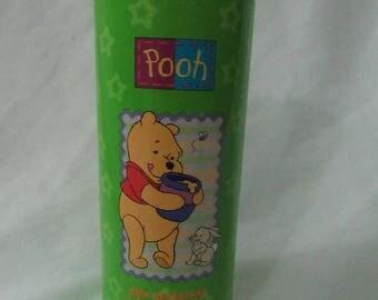 Solar Clearance Retro Avon 90s Pooh Bath Adventures Talc Free Poweder Juvenile Collectible Display