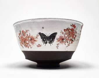 bowl with decals