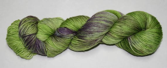 Heathered Moor Hand Dyed Sock Yarn
