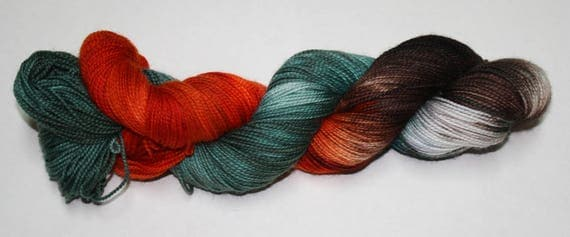 Ready to Ship - Surrender Hand Dyed Sock Yarn - Sport Sock