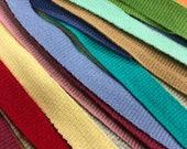 """3/8"""" Cotton Grosgrain Ribbon / Woven cotton tape / sewing tape / cotton tape / Sold by the yard / 100% Cotton grosgrain ribbon"""