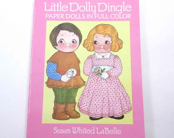 Little Dolly Dingle Paper Dolls Vintage Uncut Paper Doll Book for Children by Dover Grace G. Drayton