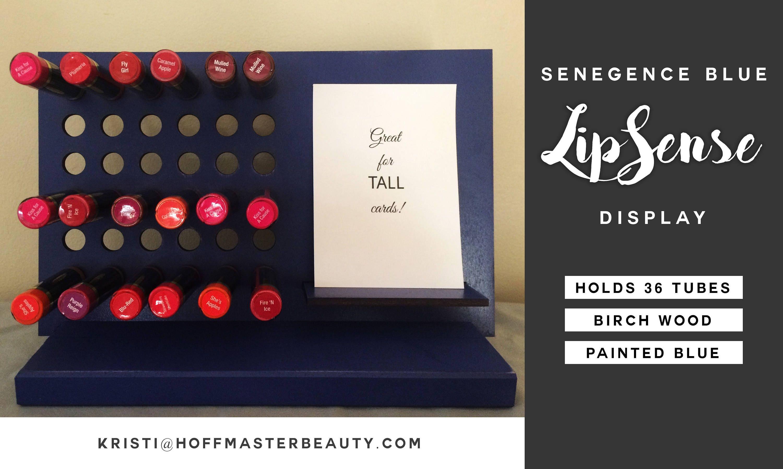 LipSense SeneGence Blue Lipstick Display