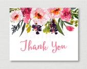 Pink Floral Baby Shower T...