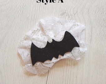 Haunted House and Mansion Maid Bat Hairbow