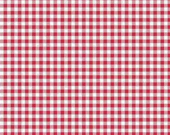 Bake Sale 2 By Lori Holt Gingham Red (C6988)