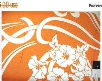 CLEARANCE SALE CLEARANCE Amy Butler August Fields Graceful Vine Orange Cotton Home Decor Fabric 1 Yard