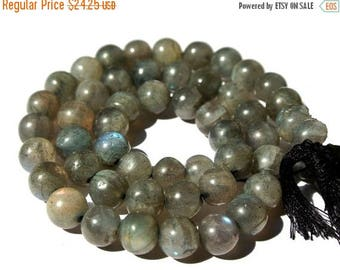 50% Off Sale Full 14 Inches - Labradorite Smooth Polished Round Beads Size 7 - 7.5mm approx