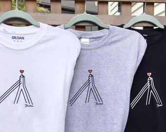 My Bella Zakim T-shirt by Lori Magno