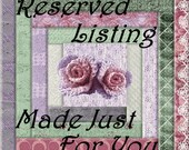 Reserved Listing for:  tarahfinlay03