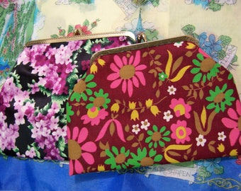 two lovely cosmetic clutches