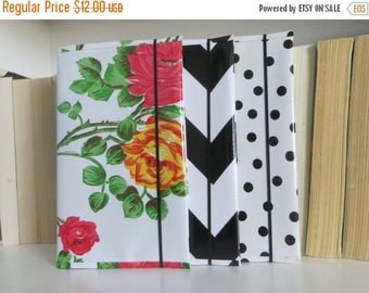 ON SALE journal cover - moleskine cover - notebook cover - composition notebook - colorful journal - moleskine cahier