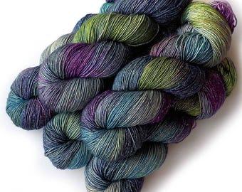 Hand Dyed Yarn Stella Superwash Merino Sock Yarn, Monet