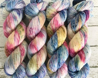 MONET - Hand Dyed Yarn - Signature Merino Nylon Sock Yarn Fingering - Ready to Ship - Vivid Yarn Studio