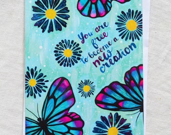 New Creation Card
