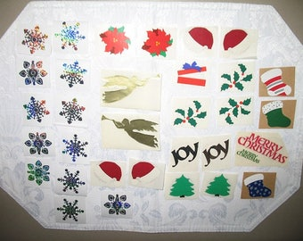 Christmas Holiday Stickers Set of 32