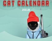 2018 World's Most Super-Amazing 100% Awesome Cat Calendar