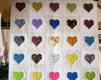 From the Heart Crib Quilt
