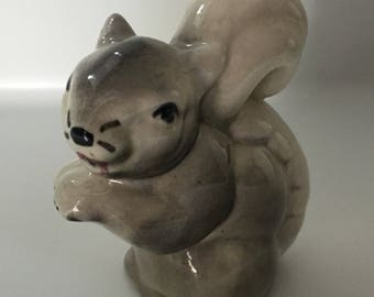 Vintage squirrel figurine