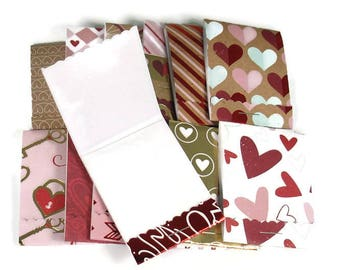 20 Matchbook Notepad  Party Favor  in Valentines Day Mix