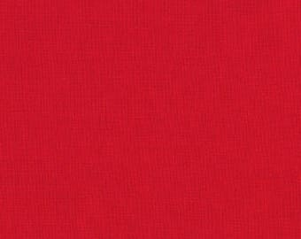 Red Color Kona Cotton Solid ~  Robert Kaufman Collection ~ Quilting Cotton Fabric