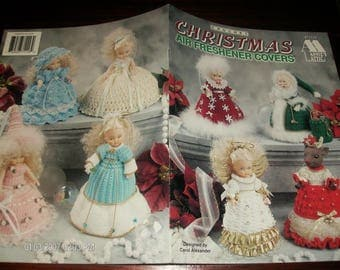 Christmas Air Freshener Covers Annies Attic 871116 Crochet Pattern Leaflet