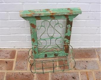Vintage Window Box Planter Box Old Window Box Garden Box Planter Box