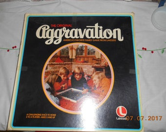 1976 The Original Aggravation Board game by Lakeside No 8320 for 2-4 players ages 5 and up