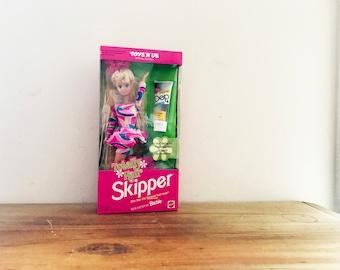 vintage 90s Totally Hair Skipper Doll In Original Box