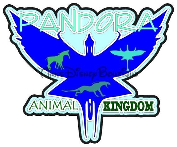 Disney Pandora SVG Animal Kingdom Title Scrapbook WDW Cut ...