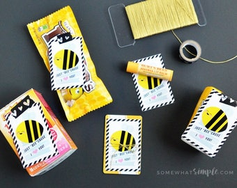 Just BEE Cause I Love You Gift Tags